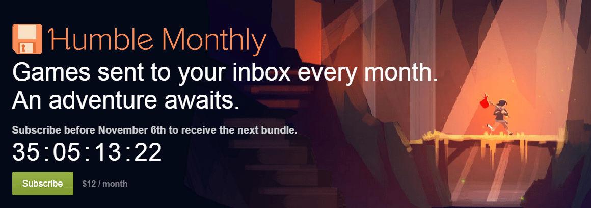Humble Bundle Begins Monthly Subscription Service for Exclusive Game Bundles