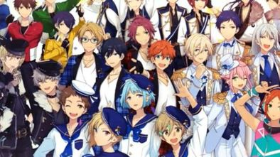 Ensemble Stars | Dating Sim | Stat Raising Sim | Trading Card Game | IOS | Android | Anime | Game