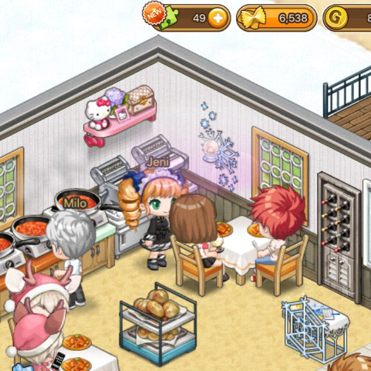 Cooking, Restaurant Management, City Building, Dressup, Dressup Games, Anime, Anime Game, Anime Games, Cute, Kawaii, Fashion, Sim, Simulation, Casual, Casual Game, Mobile, Mobile Game, App, Play Store, Google Play, Apple, Apple App Store, App Store, Free, Free Game, Games for Girls, Online Game, Multiplayer