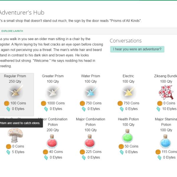 Eliyo Virtual Pet Game - Browser Based Virtual Pet Game Like Pokemon and Wajas