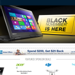 Newegg Announces their Black Friday Plans – Black Friday 2016 Starts Now