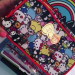 Lootcrate Review with Photos of December 2016 Sanrio Small Gift Crate with Hello Kitty and Friends