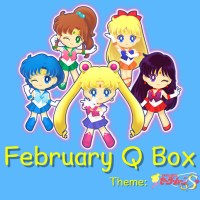 Qbox Sailormoon Subscription Box Now On Sale - Shipping Begins February 2017