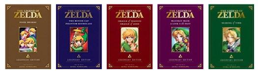 Zelda Legendary Edition Zelda Manga