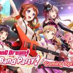 BanG Dream Girls Band Party – English Release in Spring 2018
