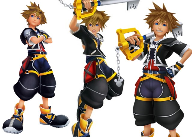 15 Year Old Sora in Kingdom Hearts 2