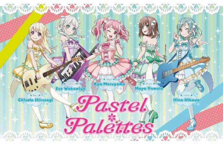 pastel palettes