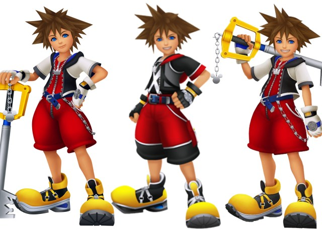 14 Year Old Sora in Kingdom Hearts 1