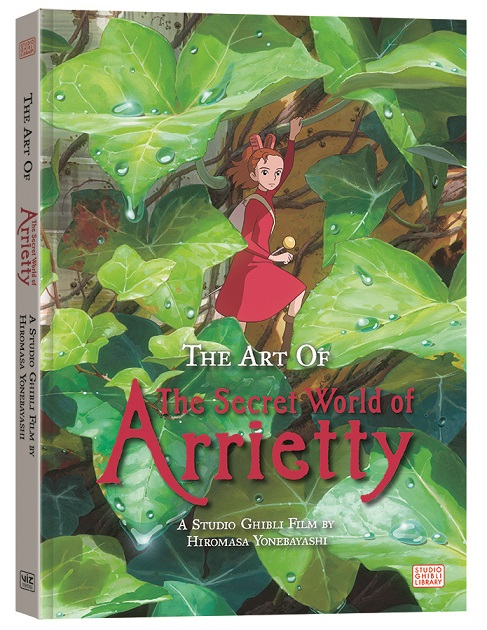 Artbook Review: The Art of The Secret World of Arietty
