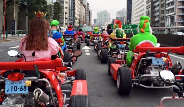 Real Life Mario Kart Experience at Maricar Japan
