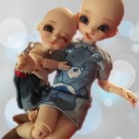 Recast Asian Balljointed Dolls