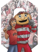 Trevor: The world's biggest Buckeye fan! Color Commission $50
