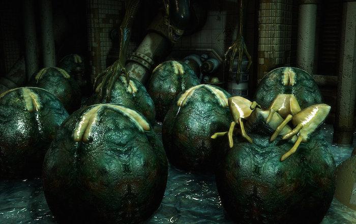 Aliens-Eggs