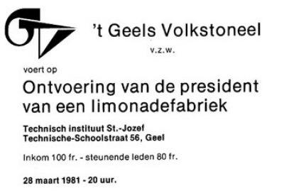 Eerste GVT-uitnodiging met eerste GVT-logo