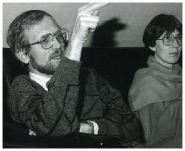 Regisseursduo Jef Zagers en Mia Vansant