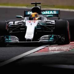 Lewis Hamilton pisti Suzukan rataennätyksiä uusiksi ja ajoi paalupaikalle