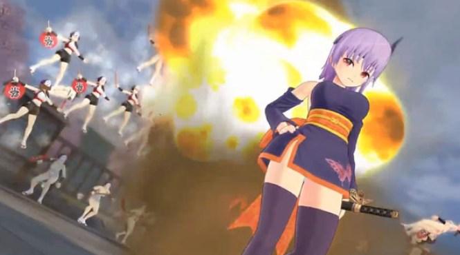 Nuevo DLC de Ayane para Senran Kagura: Estival Versus