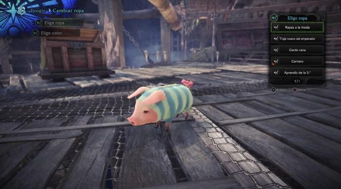 Cómo conseguir los trajes para Poogie en 'Monster Hunter World'