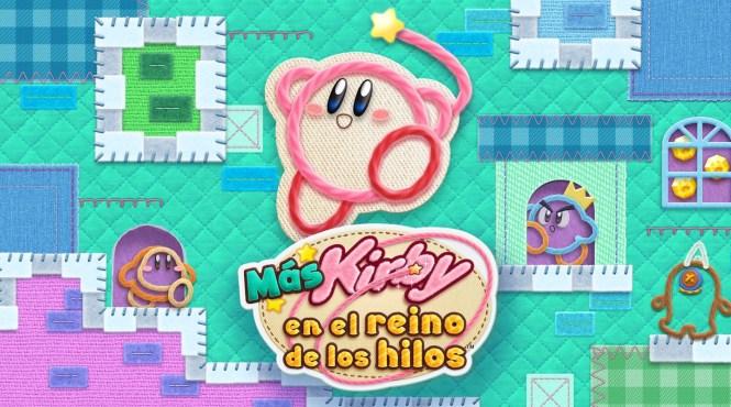 'Más Kirby en el reino de los hilos' llegará el 8 de marzo a 3DS