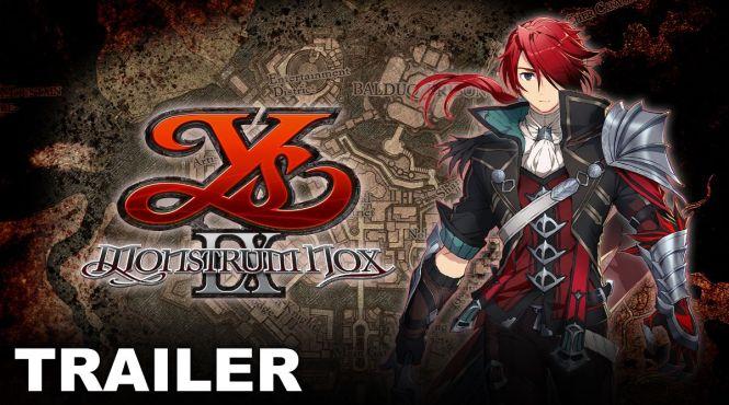 'Ys IX: Monstrum Nox' llegará el 5 de febrero a PS4