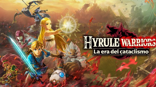 Disponible la demo de Hyrule Warriors: La era del cataclismo para Switch