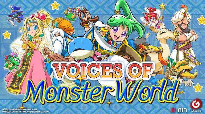 Nuevo tráiler centrado en el doblaje de Wonder Boy: Asha in Monster World