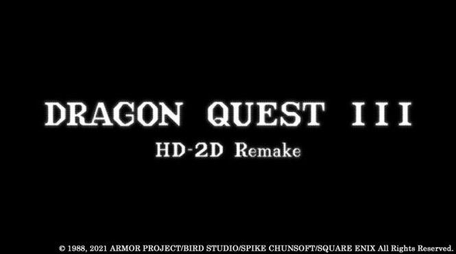 Anunciado Dragon Quest III HD-2D Remake para consolas