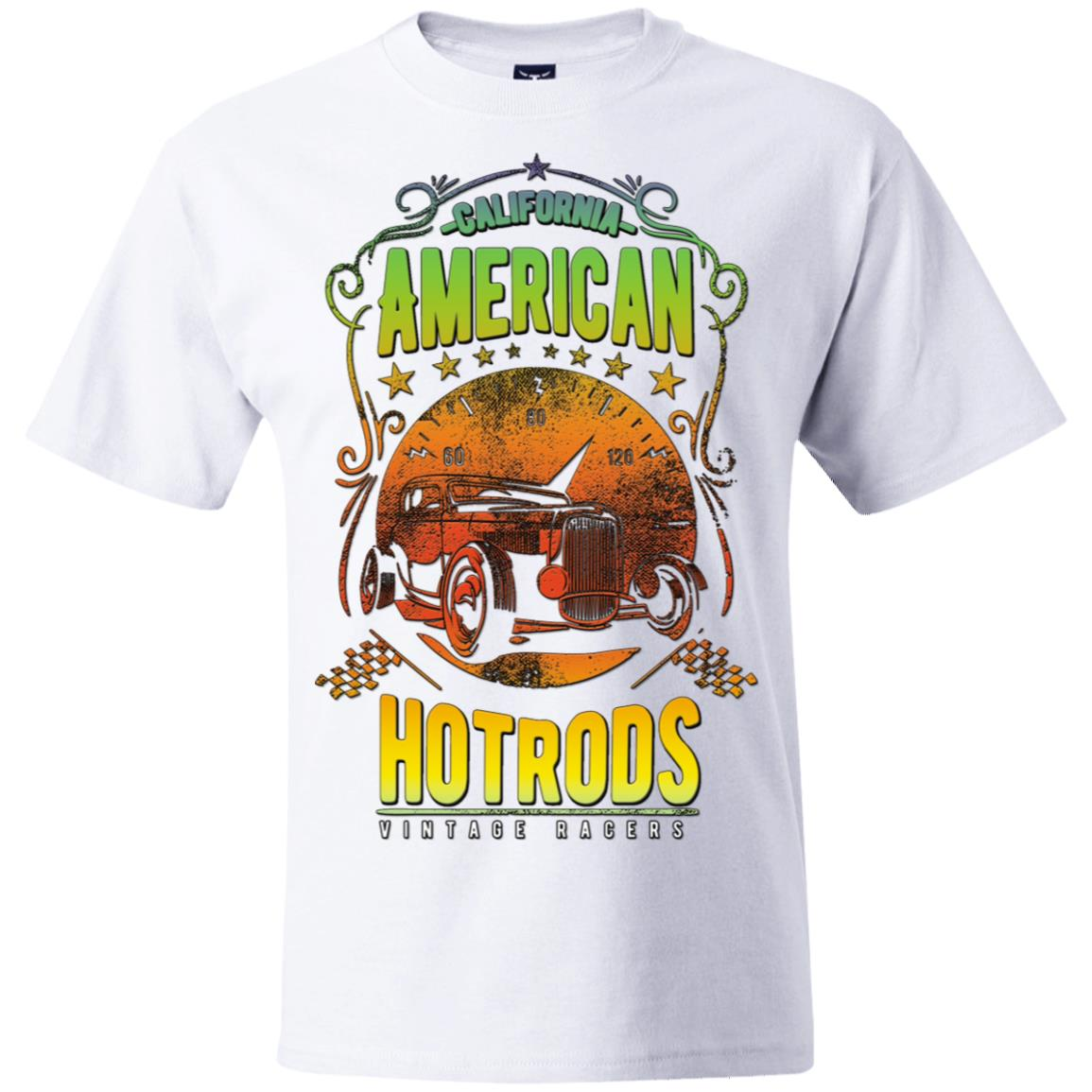 American Hotrods Hanes Beefy T-Shirt
