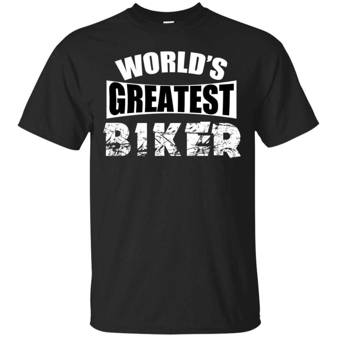 World's Greatest Biker Gildan Ultra Cotton T-Shirt