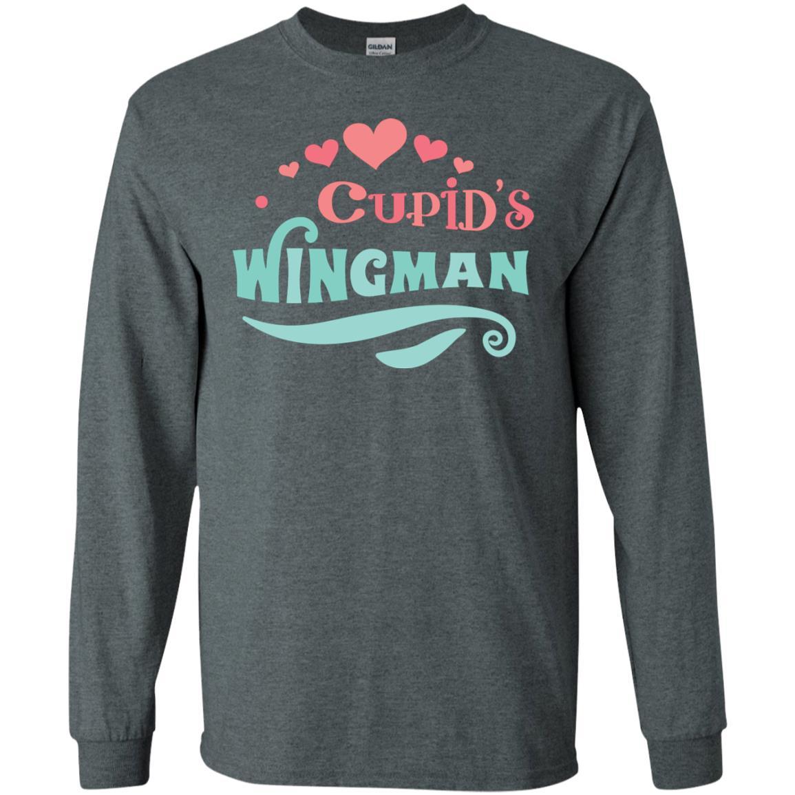 Cupid's Wingman Gildan LS Ultra Cotton T-Shirt