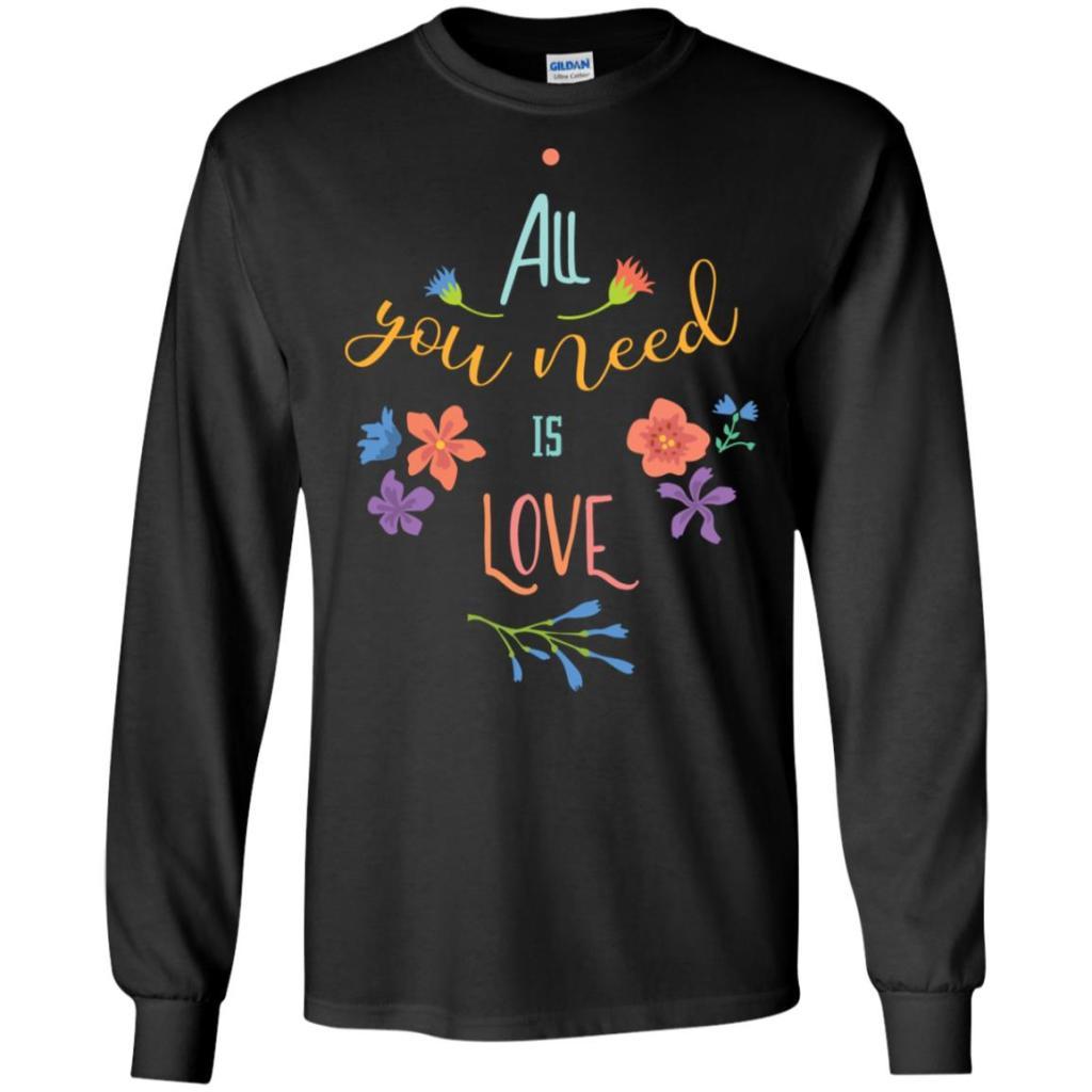 All You Need Gildan LS Ultra Cotton T-Shirt