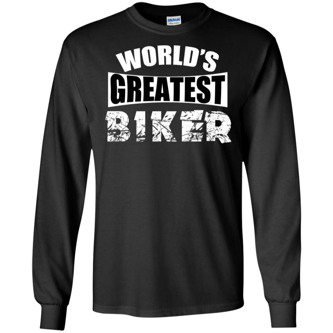 Greatest Biker Gildan LS Ultra Cotton T-Shirt