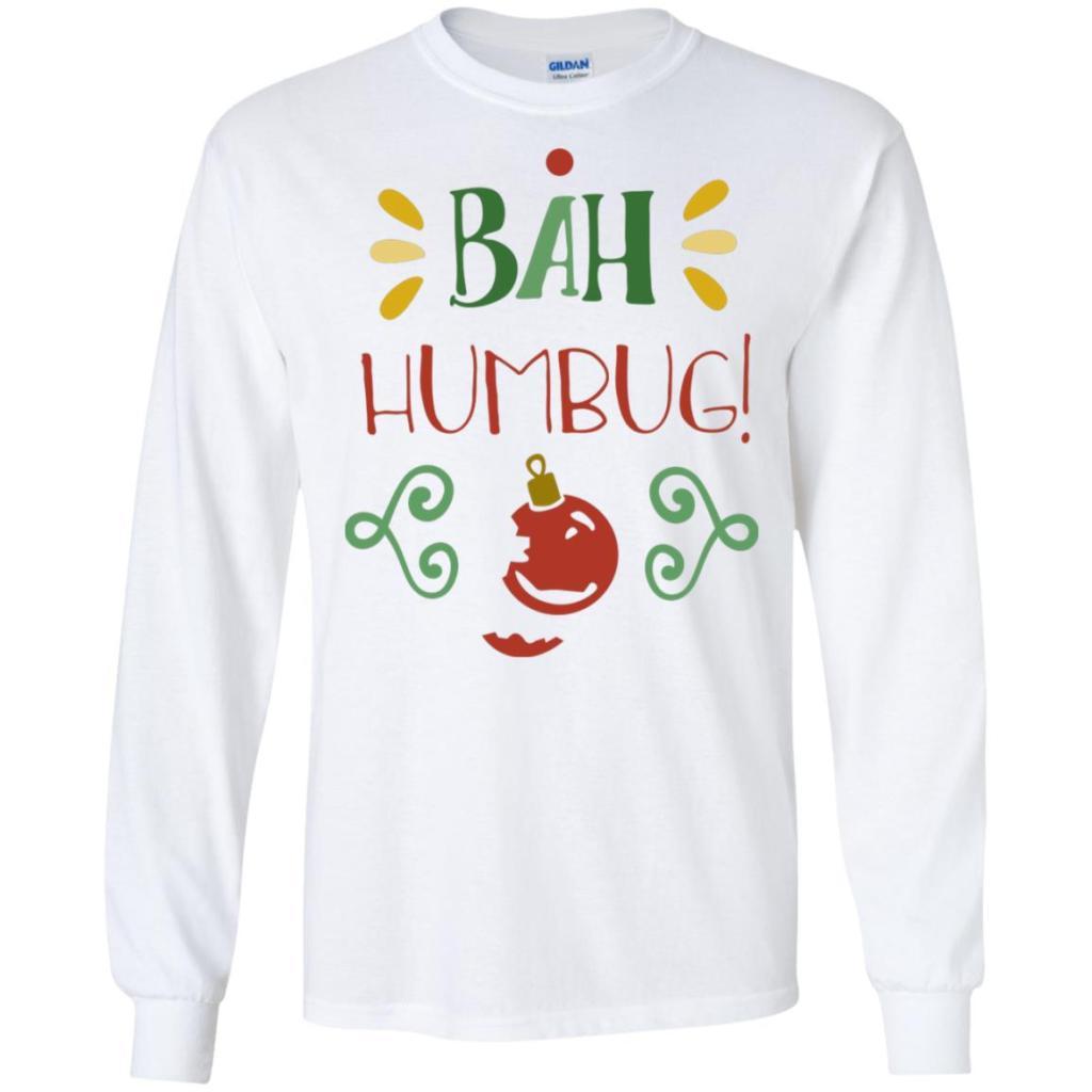 Bah Humbug Gildan LS Ultra Cotton T-Shirt