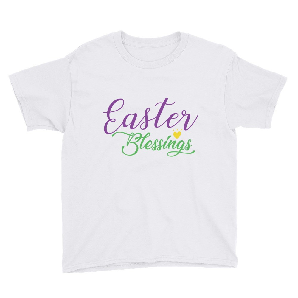 Easter - Easter Blessings Youth Short Sleeve T-Shirt