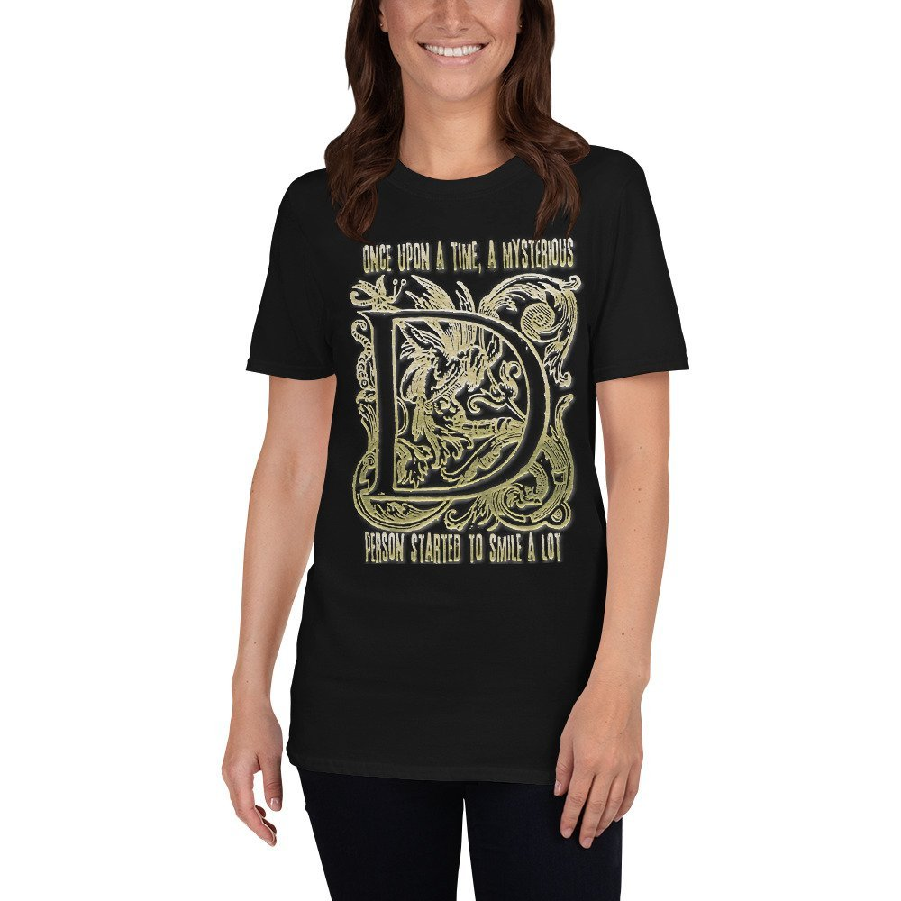 Once Upon A Time Letter D Short-Sleeve Unisex T-Shirt