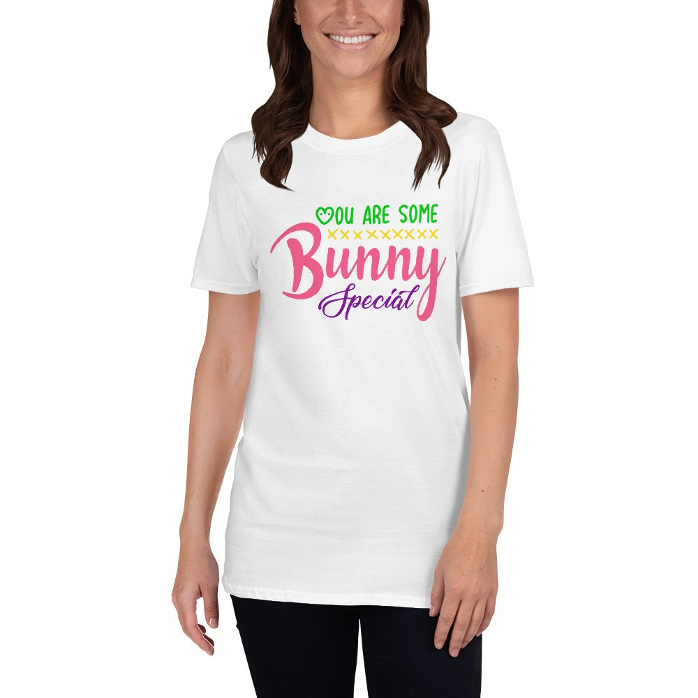 Easter - Bunny Special Short-Sleeve Unisex T-Shirt