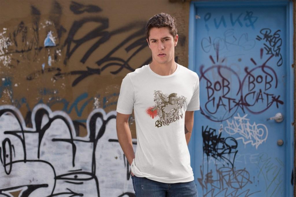 Anarchy Boy Short-Sleeve Unisex T-Shirt