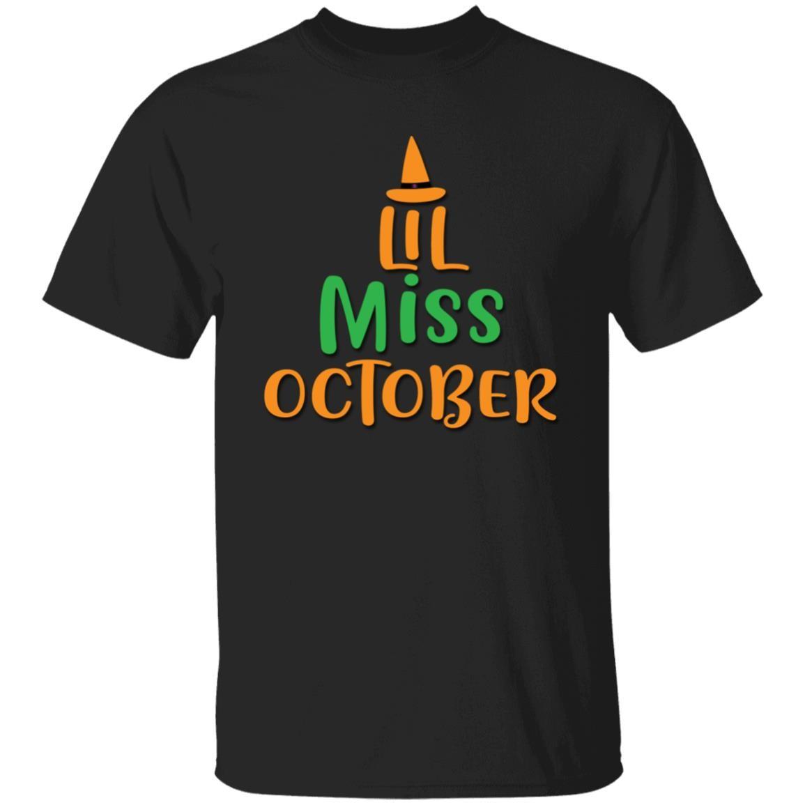 LIL Miss October Unisex T-Shirt