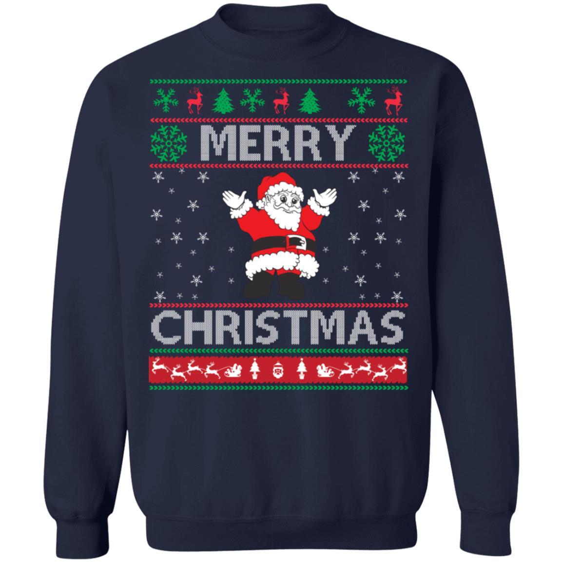 Stylish Merry Christmas Sweatshirt
