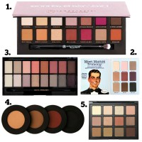 New Grunge Palettes - Five Top Picks!