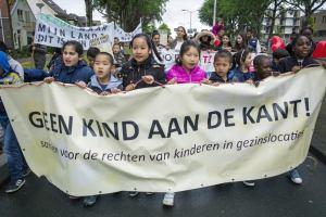 Grote opkomst uit de gezinslocatie Katwijk