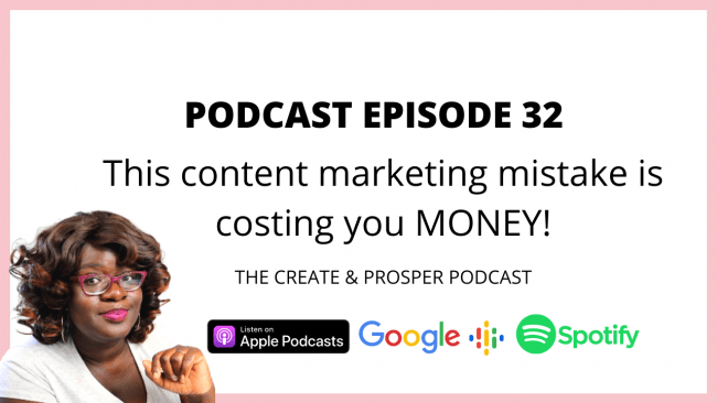 This content marketing mistake is costing you money! (Episode 32)