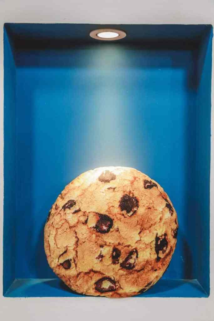 cookie dans une boîte