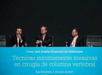 De izquierda a derecha: Dr. Juan Uribe, Dr. Federico Girardi y Dr. Pedro Berjano.