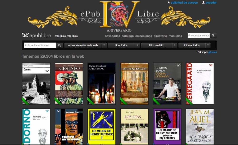 EPubLibre, El Mejor Sitio Para Descargar Libros EPub Gratis @tataya.com.mx