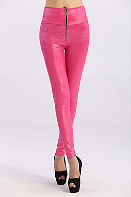 Pink Faux Leather Pants for sale Geesfashionworld