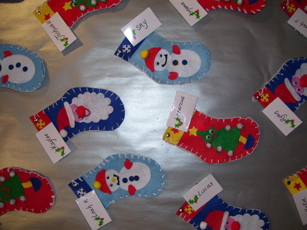 Pendeen School Christmas Work 011