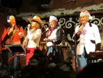 Singing cowboys in Arizona