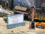 Geezer sign Model Railroad