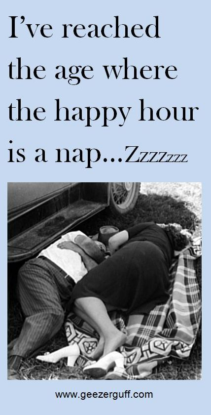 Couple napping for happy hour